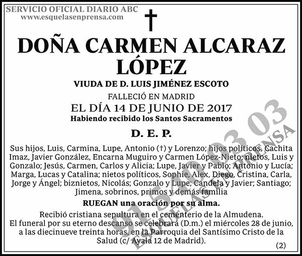 Carmen Alcaraz López